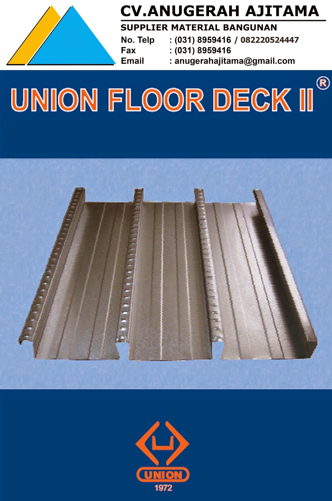 JUAL UNION FLOOR DECK II