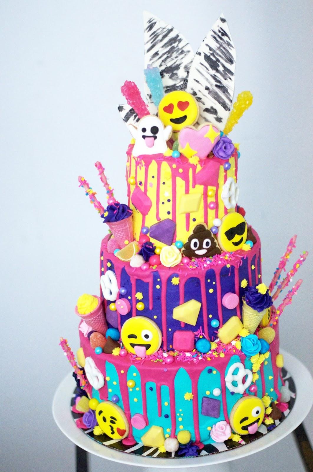 Image Of Birthday Cake Icon On Facebook Birthday Cake Emoji On