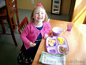 Use a Montessori weaning table to help with issues at mealtime.