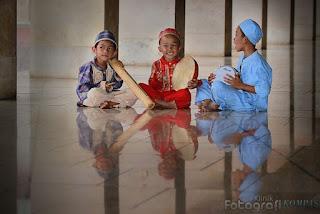 Rebana Anak - image by klinik fotografi kompas - kfk.kompas.com