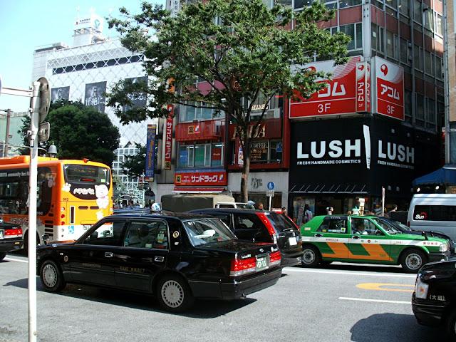 Lush Cosmetics Shibuya Tokyo