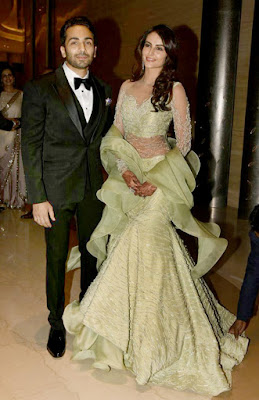 mandana-gaurav-reception