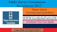 Public Service Commission Recruitment – Assistant Statistical Officer, Dairy Officer