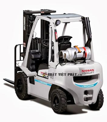 Xe nâng Nissan Diesel 1.5 đến 3.5 tấn Forklift Japan