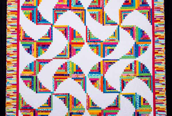 A quilt show, a ghost, art exhibition and a new quilt