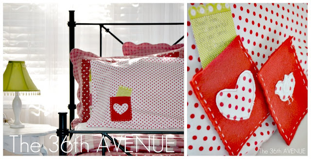 DIY Message Pillowcases by the36thavenue.com