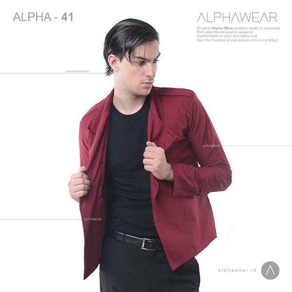 alphawear exclusive red jacket alpha41