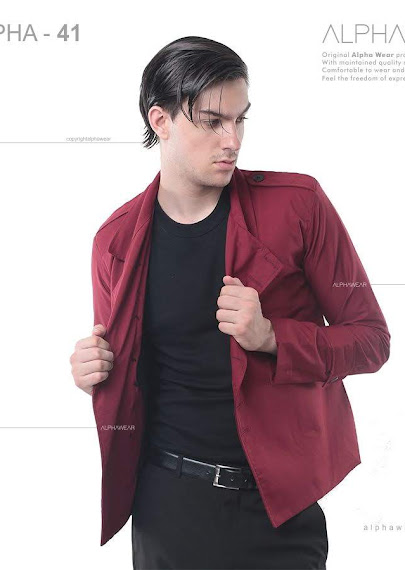 alphawear exclusive red jacket alpha41