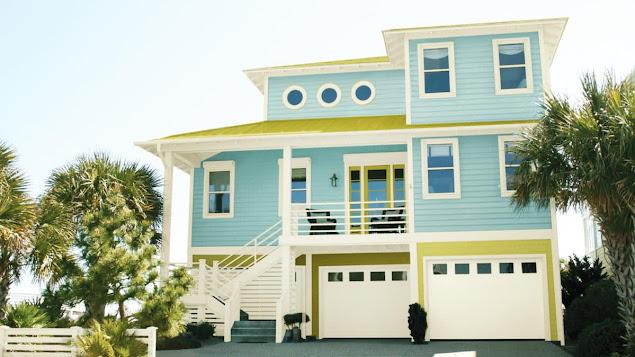 Kombinasi Warna Cat Depan Rumah yang Elegan 1