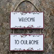 Home-Welcome-Sign-Wood-Wall-Decor-Port Harcourt-Nigeria