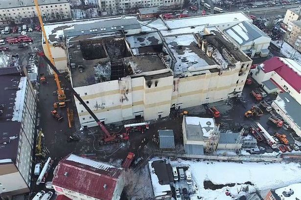 41 children died in siberia shopping mall fire