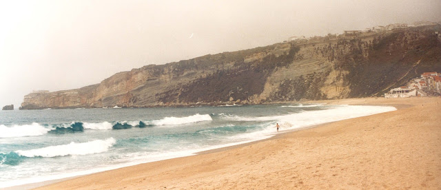 Nazaré. Portugal. Playa. Beach. Plage