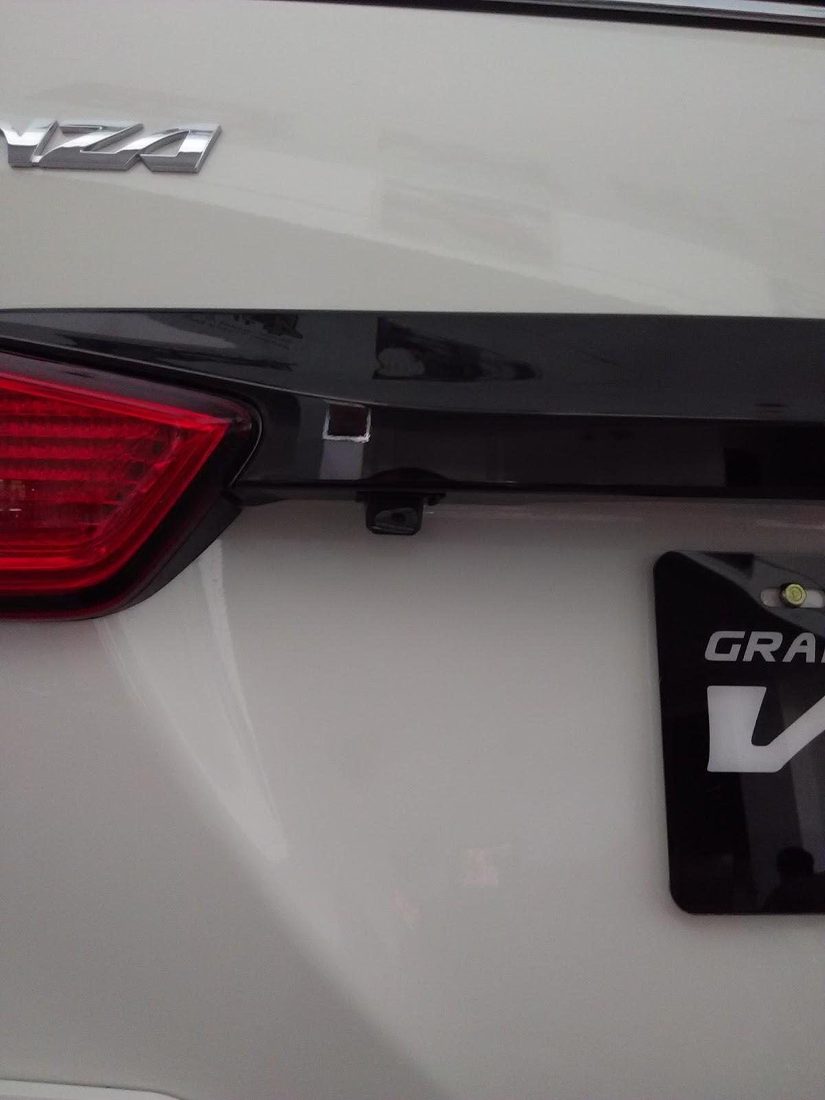 fitur grand new veloz 1.3 ram radiator avanza perbedaan 1 5 dan 3 dikta toyota satu lagi yang menjadi pembeda antara adalah adanya tambahan rear parking camera untuk melengkapi head unit monitor touch screen