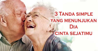 3 Tanda simple yang menunjukan Dia cinta sejatimu