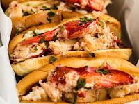 Lobster Rolls with Lemon Herb Butter