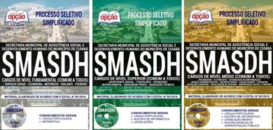 apostila concurso SMASDH Cuiaba MT 2018 - Todos os Cargos