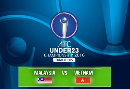 Malaysia Vs Vietnam U23 AFC 2016