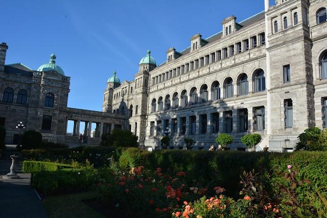 Parliament Victoria Island garden