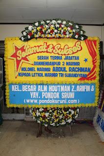 Karangan Bunga Terate Jakarta Timur