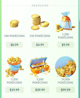 Cara Membeli Koin Di Pokemon Go