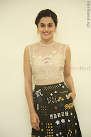 Taapsee Pannu in transparent top at Anando hma theatrical trailer launch ~  Exclusive 002.JPG