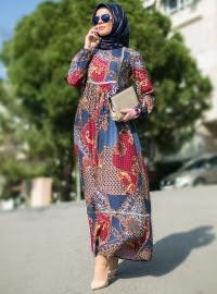 Model Baju Gamis Modern Wanita Saat Ini Dengan Desain Terbaru Gaya