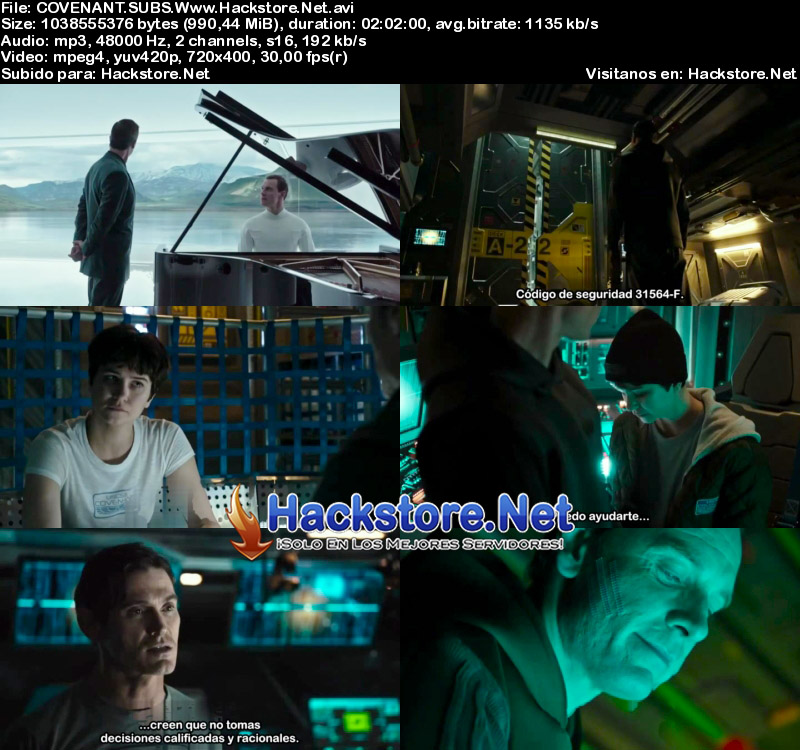Capturas de Alien: Covenant (2017) Subtitulada
