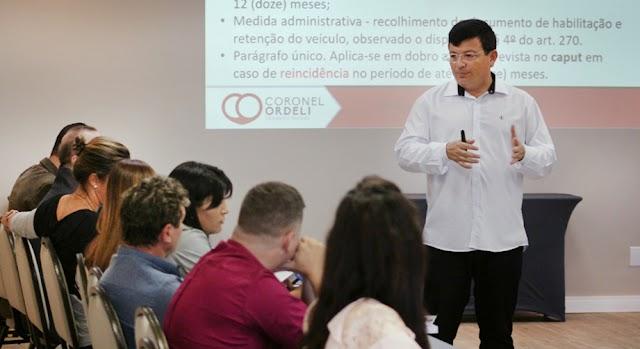 Anápolis: Prefeitura investe em capacitação para profissionais da área de trânsito