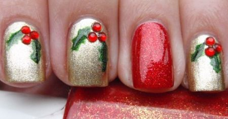 Tutorial unhas decoradas rosto do Papai Noel - Vídeo e fotos