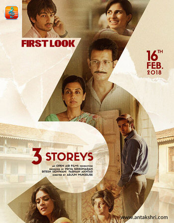 3 Storeys (2018) Hindi pDVDRip