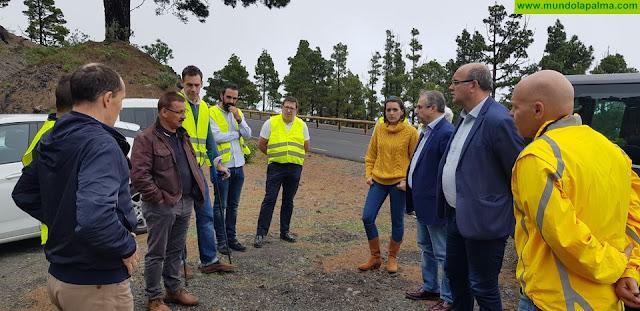 El Gobierno de Canarias concluirá en 2020 más del 70% de las obras de la carretera del sur y la circunvalación de Tazacorte