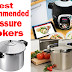 5 Best Recommended Pressure Cookers To Buy - Features And Prices