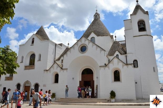 Alberobello, Rione Monti. Chiesa di Sant'Antonio