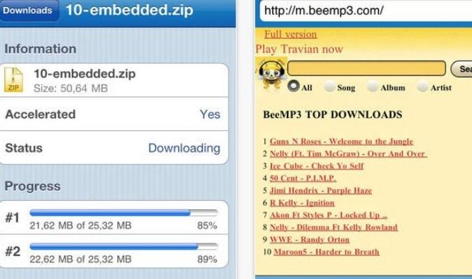 Aplikasi iPhone - Download Accelerator