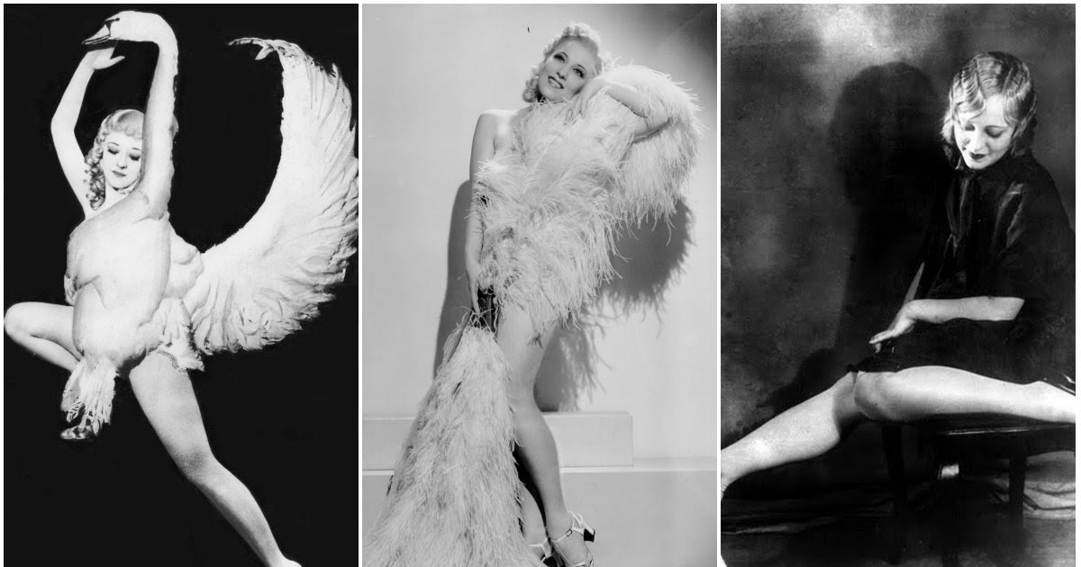 28 Classic Portrait Photos of Sally Rand, the Most Scandalous Burlesque Icon of the 1930s