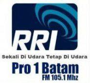 Streaming RRI Pro 1 FM 105.1 MHz Batam