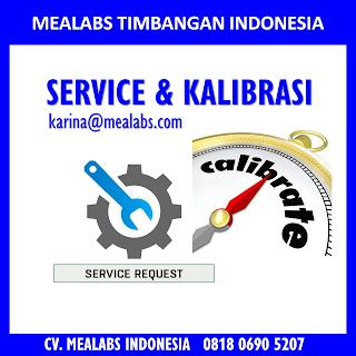 service dan kalibrasi mealabs timbangan indonesia