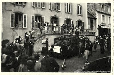 Ancienne Photo noir et blanc d'Auvergne à identifier