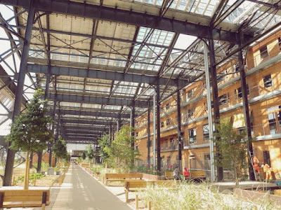 halle pajol, paris, solar power, solar energy