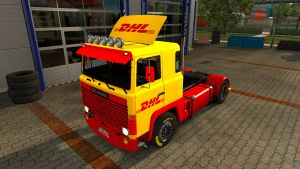 DHL skin for Scania 1 (EviL)