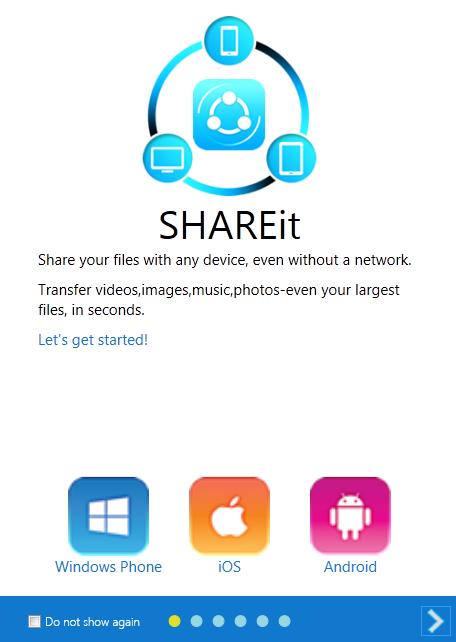 Download SHAREit for Windows PC, Desktops, iPhone, mac & Laptops