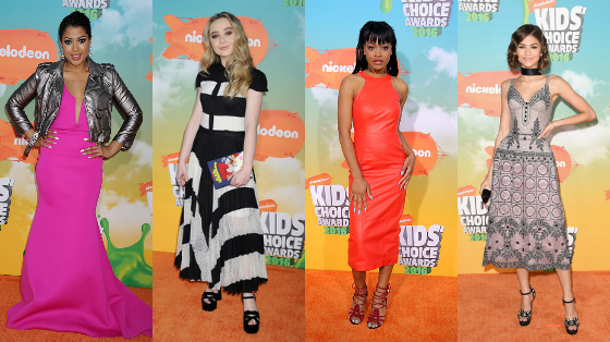 looks do kids choice awards