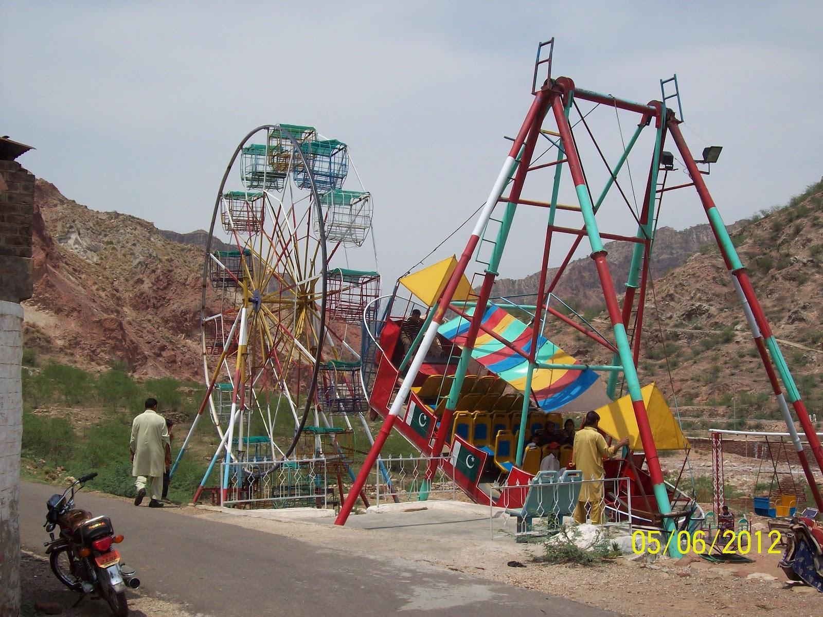 Postcards From The Embassy: Postcard: The Khewra Salt Mines