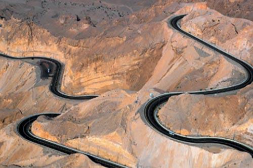 JABAL HAFEET Uni Emirat Arab, 11 km.