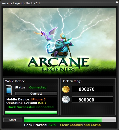 Arcane Legends Hack Cheat - Games Hack Club