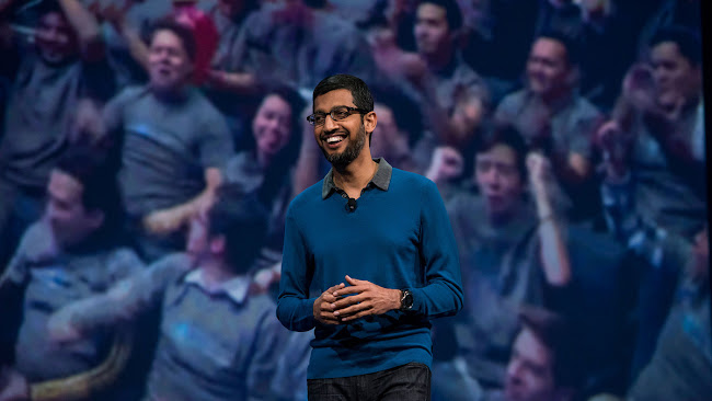 A beautiful speech by Sundar Pichai-new google CEO