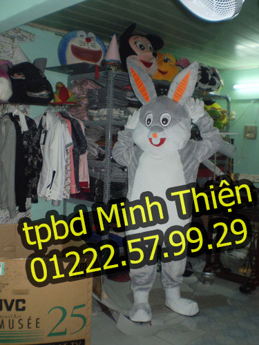 Nhận Cho Thuê Đồ Mascot Thỏ Ngọc Tại Tphcm