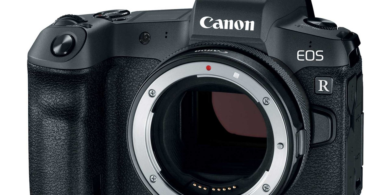 Canon Introduced  Full Frame Mirrorless Camera