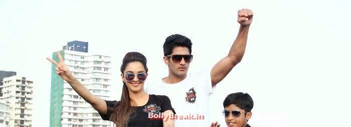 Kiara Advani, Vijendra Singh, Fugly Cast Promote Their Film With a Bike Rally