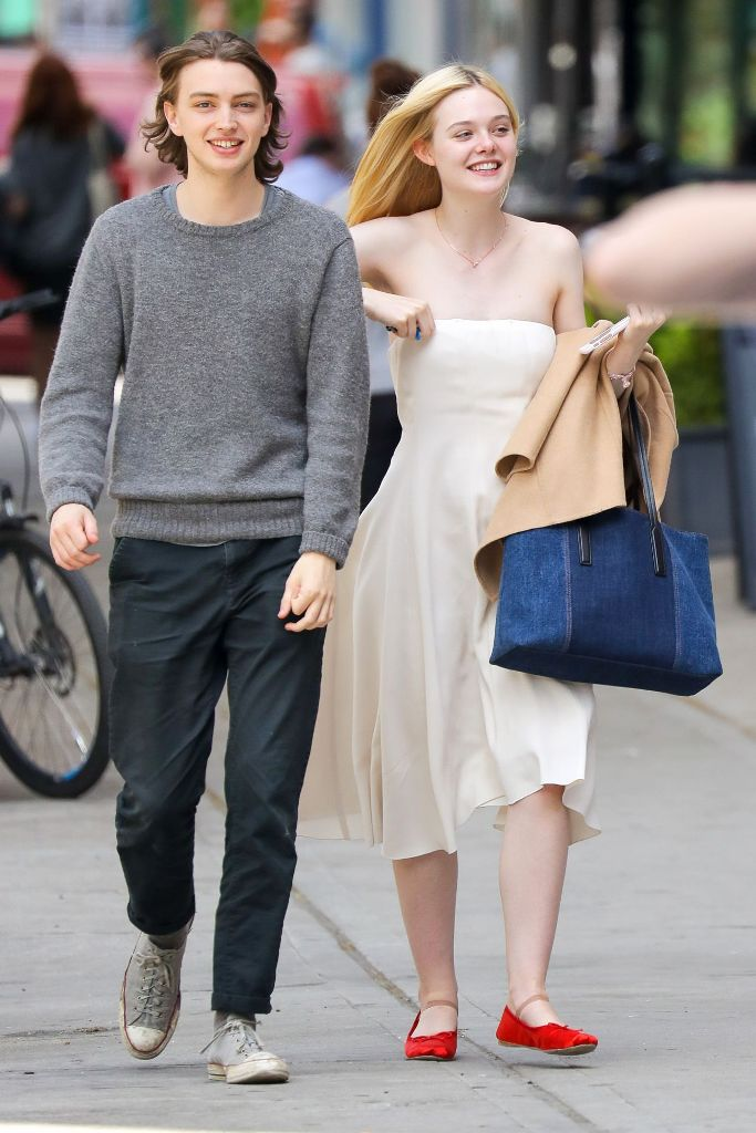 Elle Fanning in Cute Style in New York City